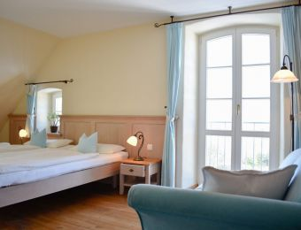 "Doppelzimmer ""Himmel"" - Hotel Gutshaus Parin"