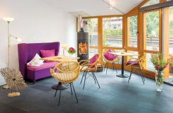 Biohotel Forellenhof: Lobby - Bio-Hotel Forellenhof, Bad Endbach, Hessen, Deutschland