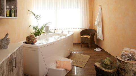 Organic bain à la lavande