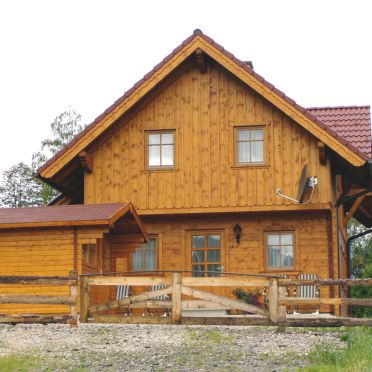 Ahornhütte, Sommer