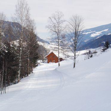 Winter, Ahornhütte in Pichl, Steiermark, Styria , Austria