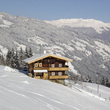 Ferienhütte Elisabeth, Frontansicht1