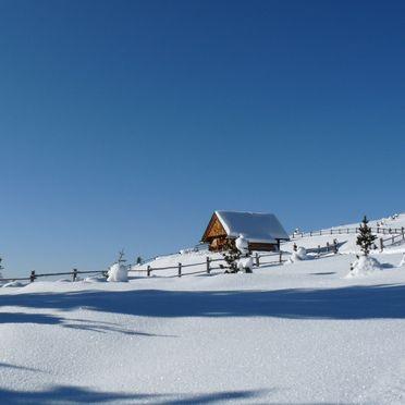 Costaces Hütte, Winter