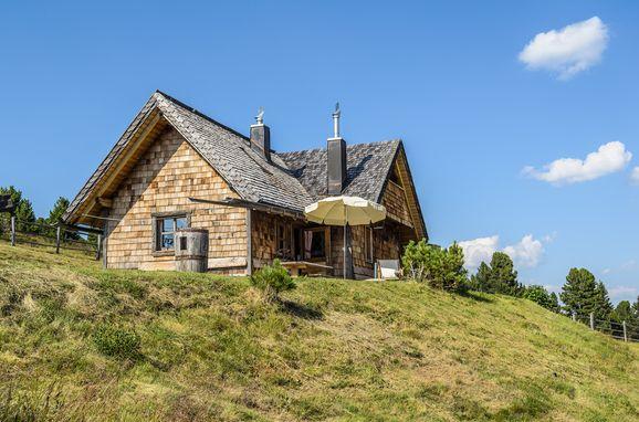 Sommer, Costaces Hütte, Am Würzjoch, Südtirol, Trentino-Südtirol, Italien