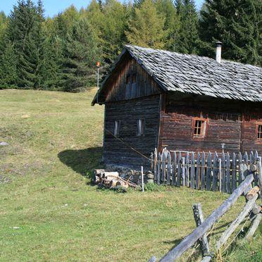 Frontansicht, Reh's Wiesen Hütte, Lüsen/Brixen, Südtirol, Trentino-Südtirol, Italien
