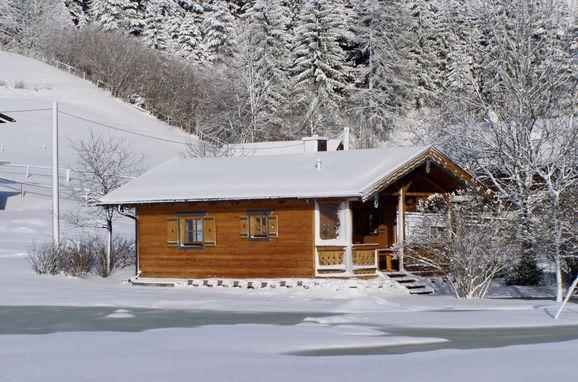 Frontansicht1, Zirbenhütte in Forstau, Salzburg, Salzburg, Österreich