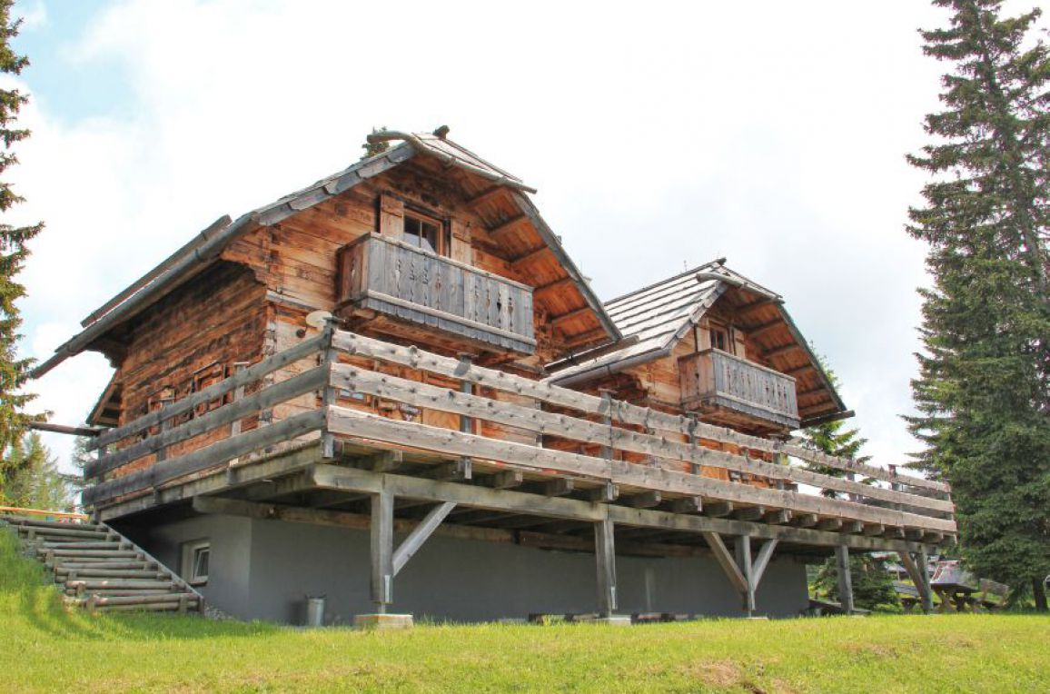 Alpine-Lodges Matthias, Aussenansicht