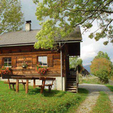 Sommer, Dorferhütte in Oberwölz, Steiermark, Steiermark, Österreich