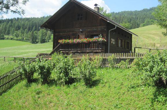 Sommer, Dorferhütte, Oberwölz, Steiermark, Steiermark, Österreich
