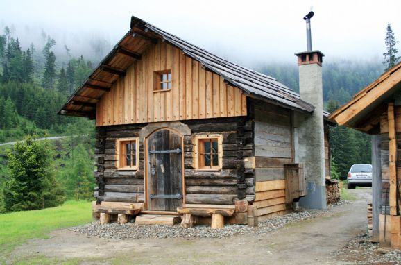 Thomalahütte, Frontansicht