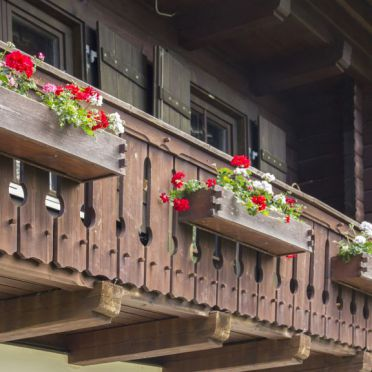 Almhaus Schloffer, Balkon