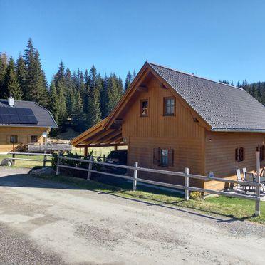 Sommer, Hüttendorf Flattnitz - Typ B, Glödnitz, Kärnten, Kärnten, Österreich