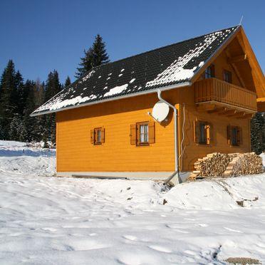 Seitenansicht2, Hüttendorf Flattnitz - Typ B in Glödnitz, Kärnten, Kärnten, Österreich