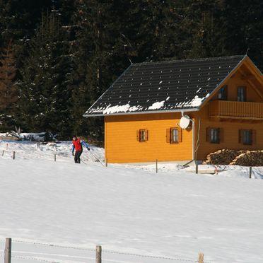 Frontansicht2, Hüttendorf Flattnitz - Typ B, Glödnitz, Kärnten, Kärnten, Österreich