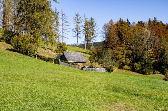 Herbst, Kuschelhütte in Neukirchen, Oberösterreich, Oberösterreich, Österreich