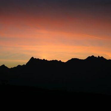 Abendstimmung, Ski & Bergchalet Penkenjoch, Mayrhofen, Tirol, Tirol, Österreich