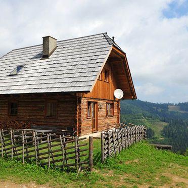 Seitenansicht, Kuhgrabenhütte, Bad St. Leonhard, Kärnten, Kärnten, Österreich