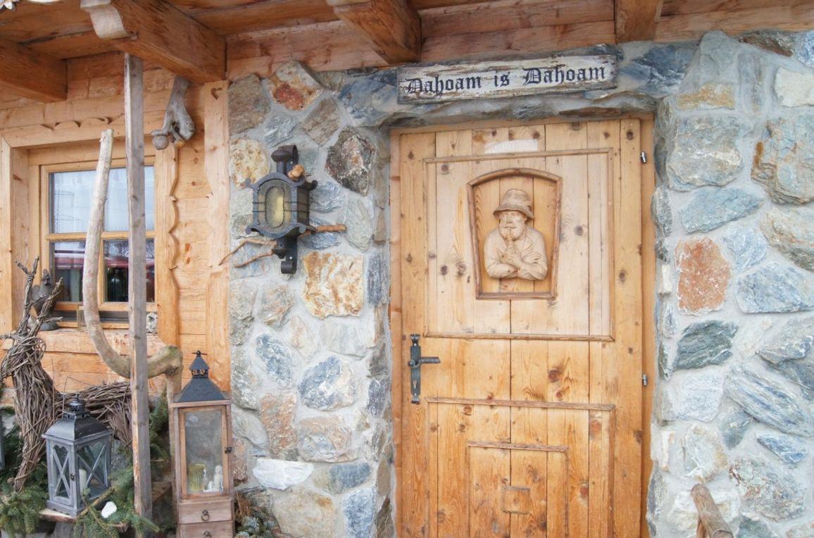 Hammer-Hütte, Eingangsbereich