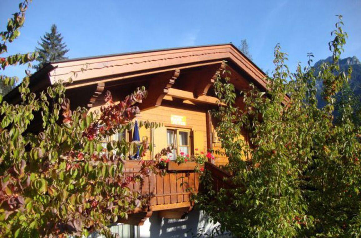 Alpen-Chalets Haus Elisabeth, Frontansicht3