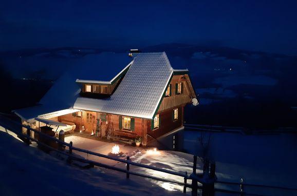 Winter, Kotmarhütte, Bad St. Leonhard, Kärnten, Carinthia , Austria