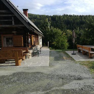 Sommer, Jagerhütte in St. Gertraud, Kärnten, Kärnten, Österreich