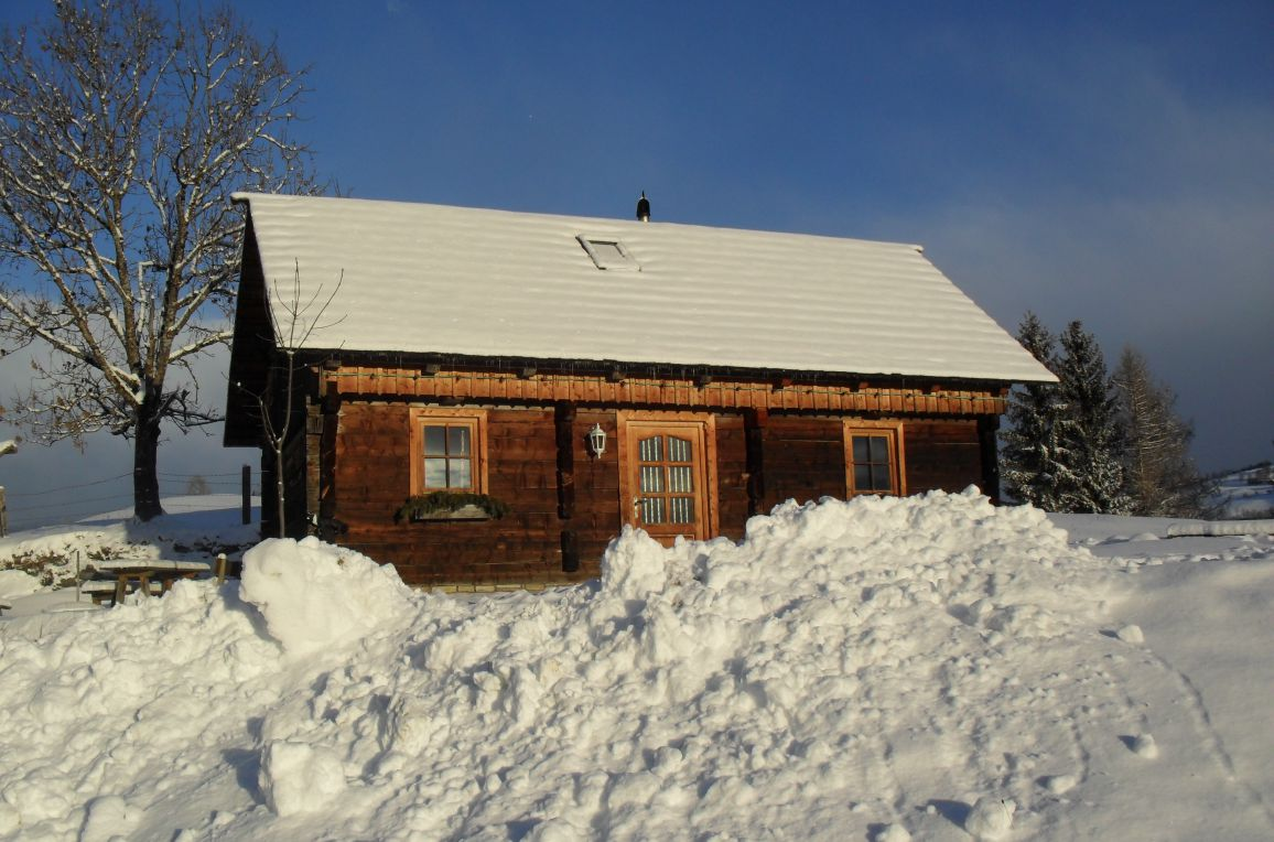 Höllerhütte, Winter