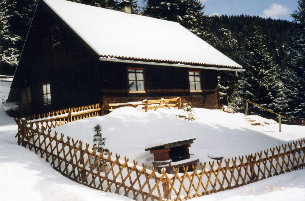 Zirbenwaldhütte, Winter