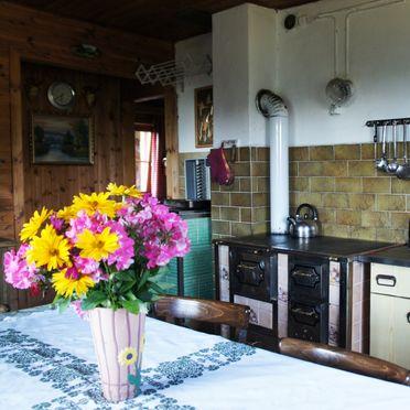Zirbenwaldhütte, Küche
