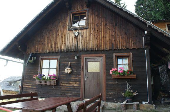 Sommer, Zirbenwaldhütte, Mühlen, Steiermark, Steiermark, Österreich
