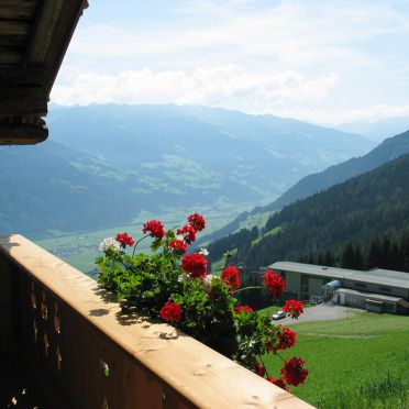 Kohler Hütte, Balkon