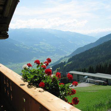 Balkon, Kohler Hütte, Fügen, Tirol, Tirol, Österreich