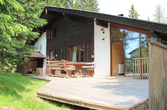 Veranda, Alpine-Lodges Petra, Arriach, Kärnten, Carinthia , Austria
