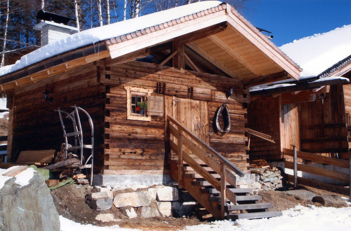 Goldwäscherhütte, Winter