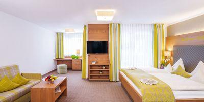 Deluxe double room 40 qm 1/2