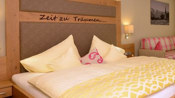 Doppelzimmer de Luxe 40 qm | 1 Nacht
