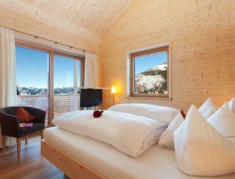Doppelzimmer Holz100 - Biohotel Mattlihüs