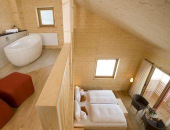 Galerie-Suite Holz100 - Biohotel Mattlihüs