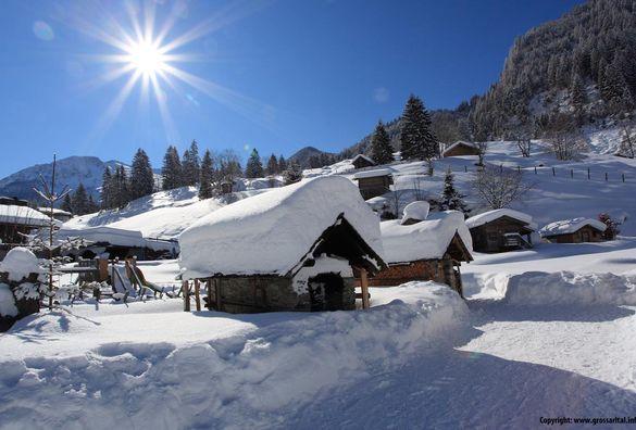 Berghütten, Hütten und Skihütten im Großarltal mieten