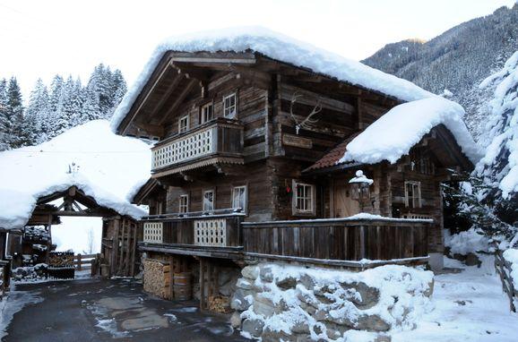 Winter, Hubertushütte, Mayrhofen, Tirol, Tirol, Österreich
