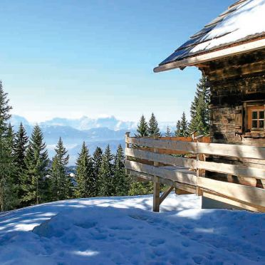 Alpine-Lodges Lisa, Aussicht