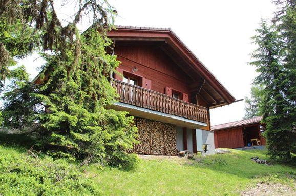 Aussenansicht, Alpine-Lodges Theresia, Arriach, Kärnten, Kärnten, Österreich