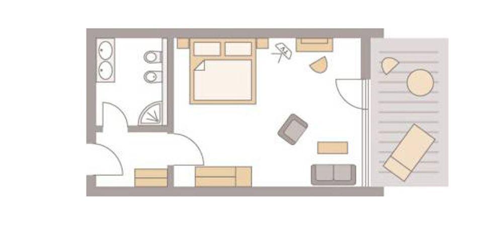 """Double room """"Adlerweiher I Classic"""" 3/5"""