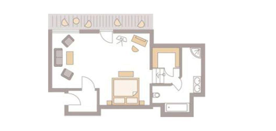 "Double room ""Alpersbach II "" 3/5"