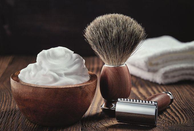 Barbier Bartpflege