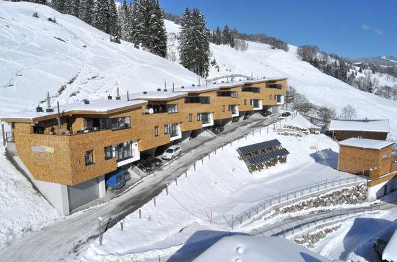 Winter, Bachgut Chalet 1-3 in Saalbach-Hinterglemm, Salzburg, Salzburg, Österreich