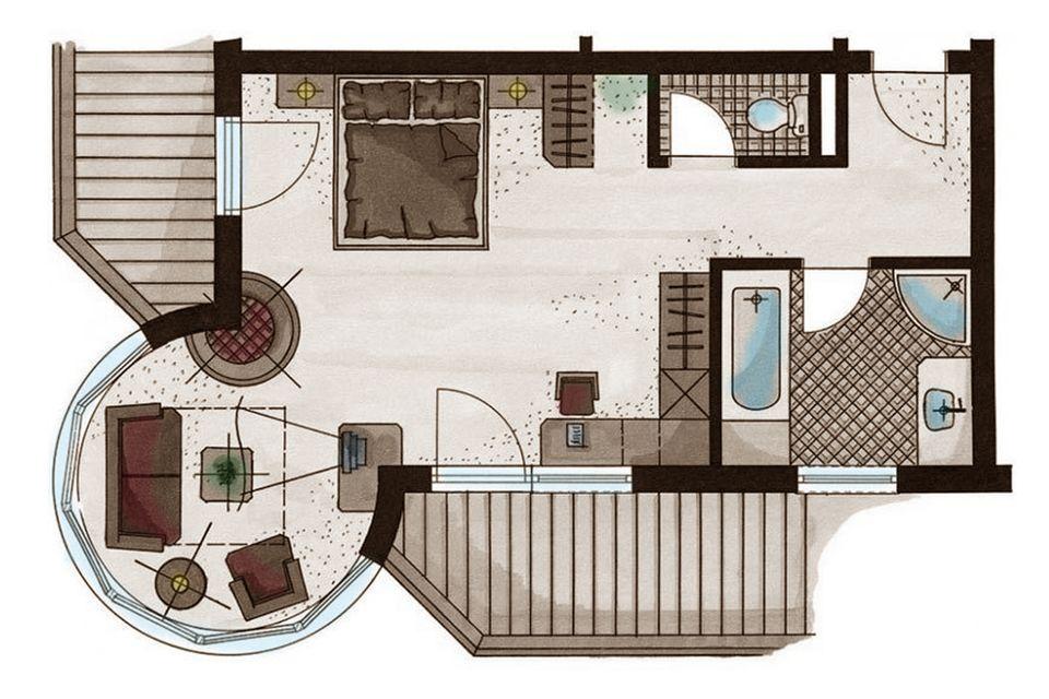 Schlössl Suite 2/3