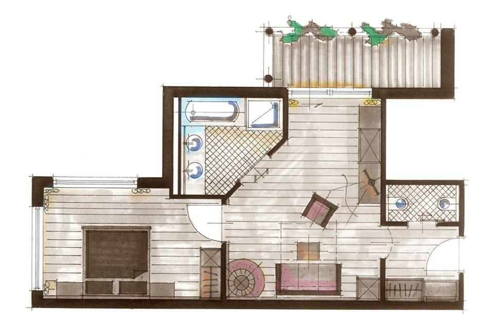 Turm Suite 2/4