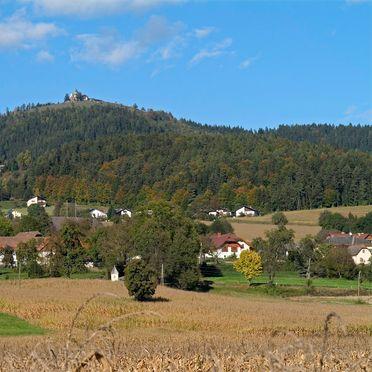 """Aussicht, Gut Ottmanach """"Schlosshof"""" in Pischeldorf, Kärnten, Kärnten, Österreich"""