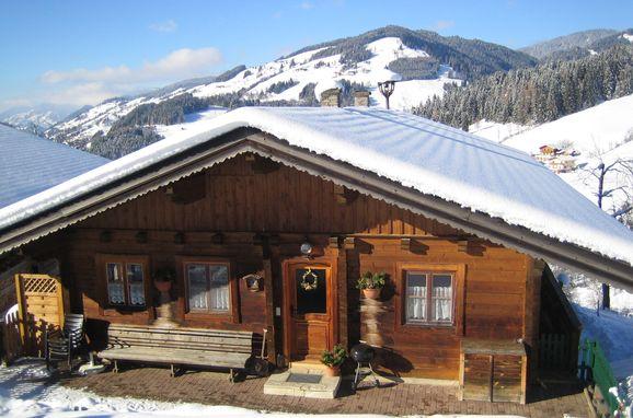 Winter, Blockhaus Zwislegg in Wagrain, Salzburg, Salzburg, Austria