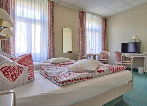 Double room economy (1/2) - Biohotel Amadeus